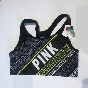 NWT PINK V S Ultimate Sports Bra, Sz M